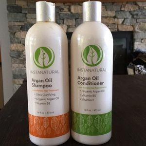 Instanatural argon oil shampoo and conditioner NEW